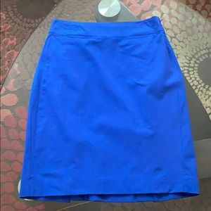 Pencil skirt with slits